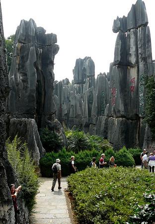 China: Kunming Stone Forest