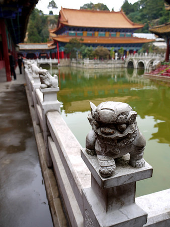China: Temple in Kunming