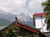 Finally a glimpse of Snow Mountain, among the Himalaya Mountains.