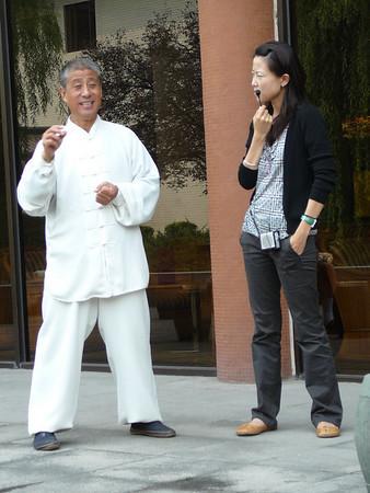 China: Tai Chi Lesson