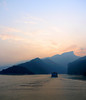 We got up at dawn to see the first of the three gorges.