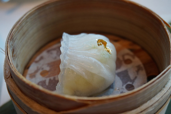 Dim Sum: Shrimp Dumplings (Har gow: 虾饺 / 蝦餃)