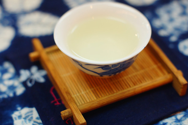 Chinese tea being served