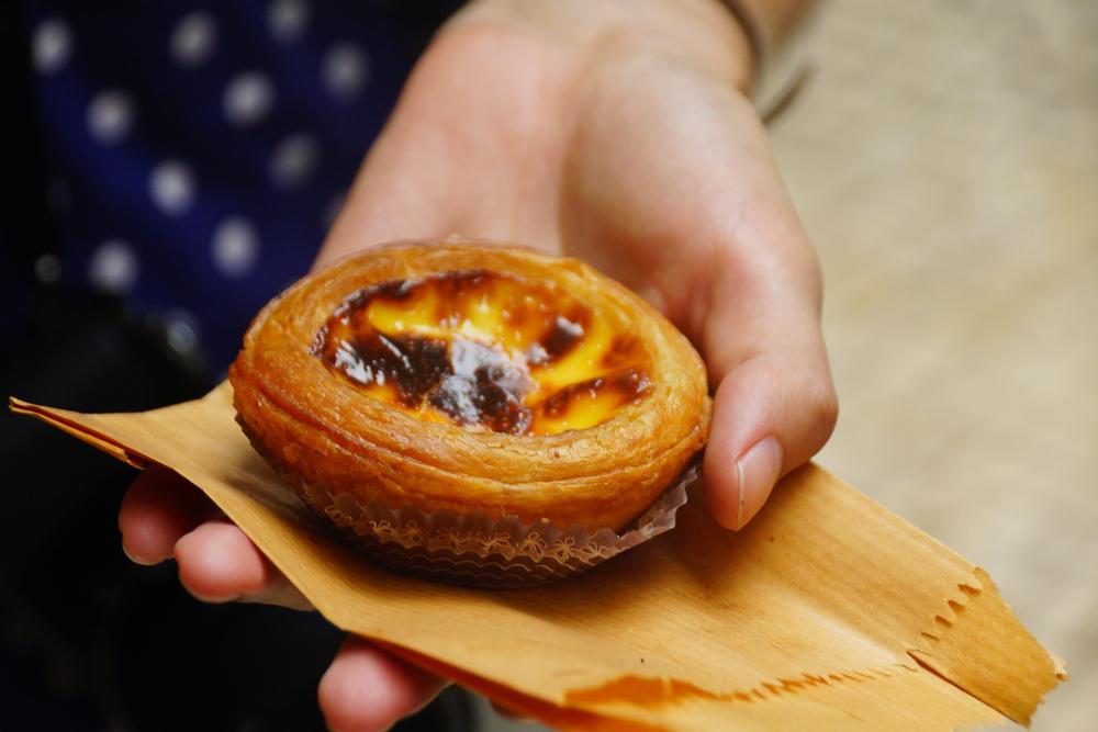 Macanese egg tart