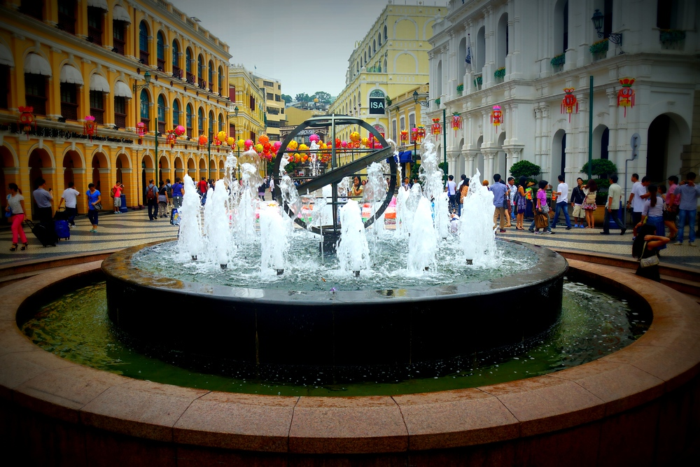 Senado Square in Macau, China