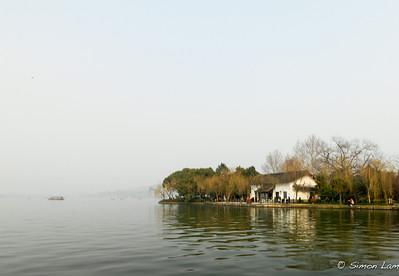 Xihu (China) in March
