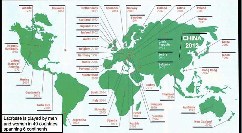 China Lacrosse World Growth  73858