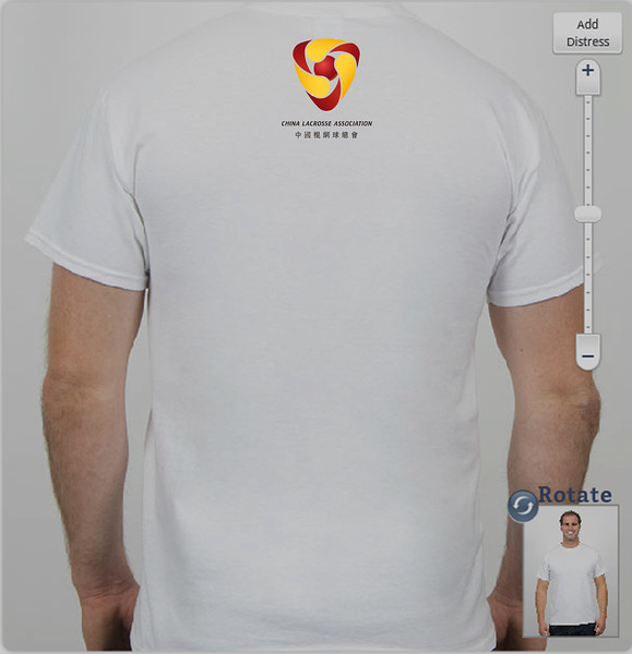 TShirt Back Small Logo