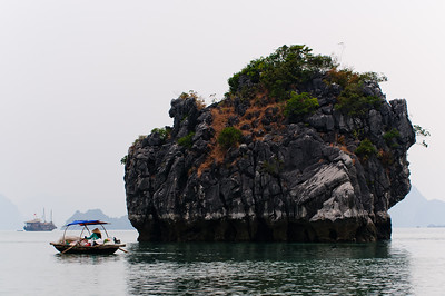 One of the 3069 islands in HaLong Bay
