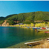 Lugu Lake_oil painting effect