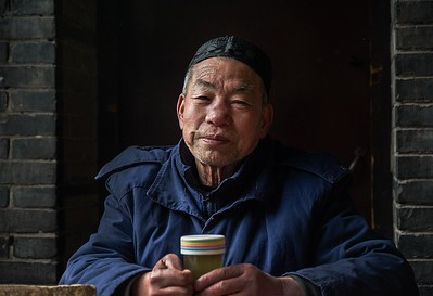 Doorman at the great mosque of Xian