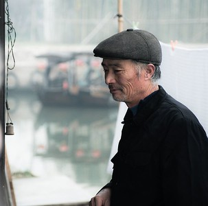 Fisherman near Shanghai