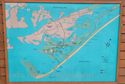 Map of Chincoteague & Assateague