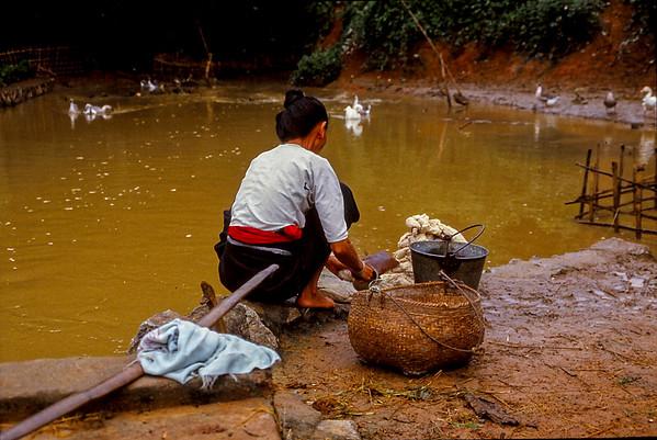 Village de Bala - Frontière Laos - Birmanie -