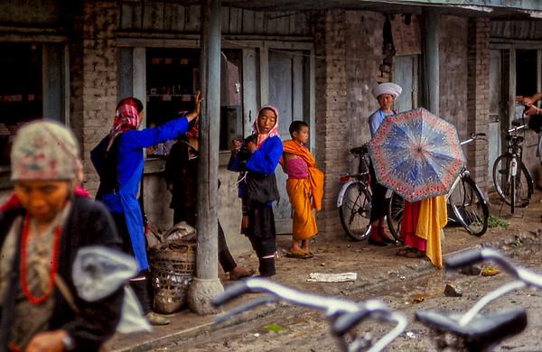 Menghze - Frontière Laos - Birmanie -