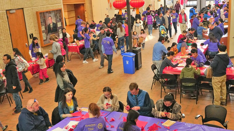 4th Annual Chinese Culture fair held this Saturday, Feb 9th at the KSU Engineering Complex. Various traditional activities provided to the public (Gabriela Faraone | Collegian Media Group)