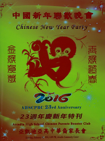 Chinese New Year Party Feb 20, 2016