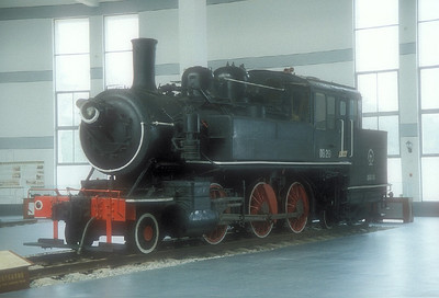 Chinese Railway Museums and Plinthed Locomotives