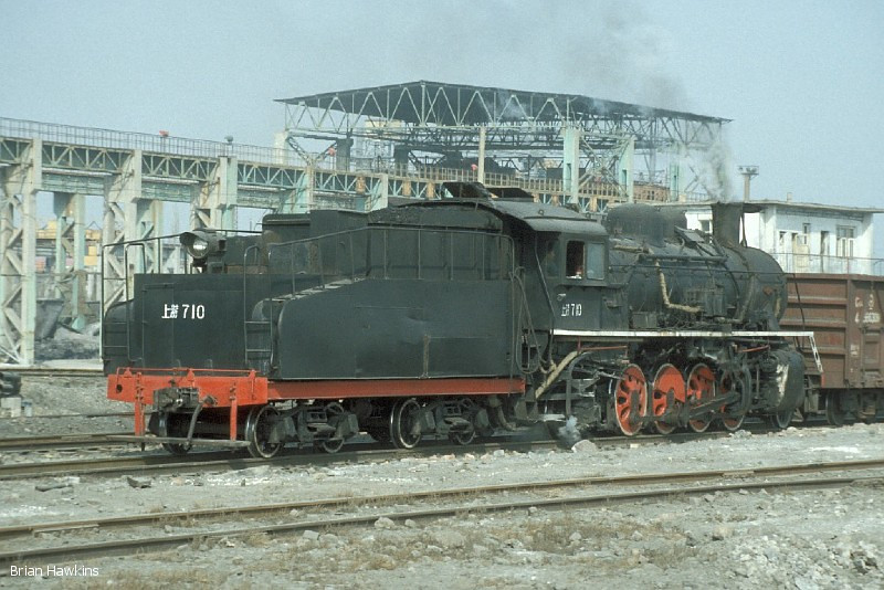 SY 0710 is seen here at work in Baotou steelworks. 2nd November 2001