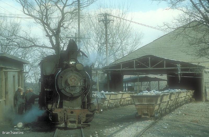 C2 03 Dahuichang Limestone Railway. 7th March 2003