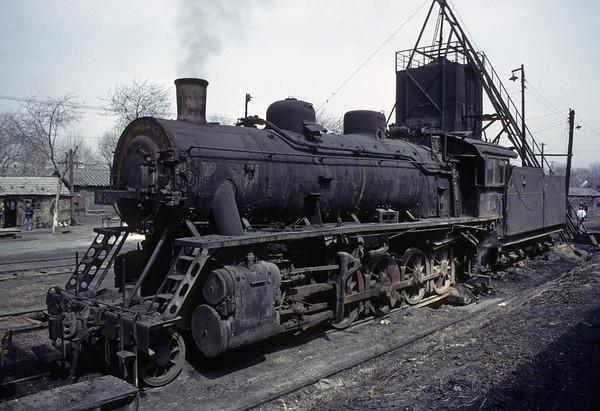 Chinese steam, 1982 - andrewstransport
