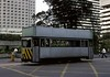 Driver training tram, Queensway, Hong Kong, March 1982.   Photo by Les Tindall.