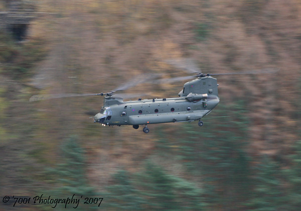 ZA679 Chinook HC.2 - 13th November 2007.