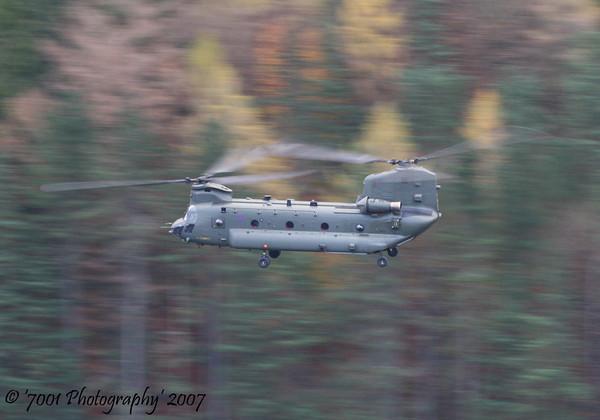 ZA679 Chinook HC.2 - 13th November 2007.