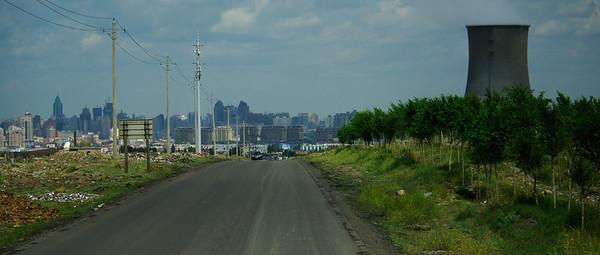 Wjazd od tyłu do Urumchi