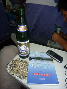 Chinskie piwo i slonecznik - naprawde dobrze sie przy nim zabija czas