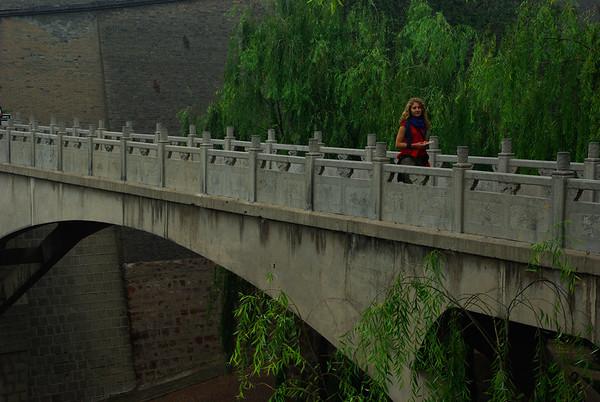 Most do drugiej czesci rezydencji