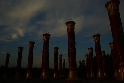 Park z kolumnami