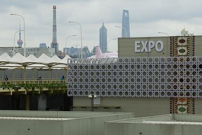 Widok na teren Expo