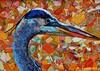 Great Blue Heron -- inspired by a photo by David Armendariz