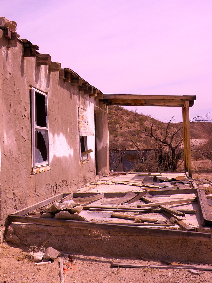 The Long Abandoned Ranch House