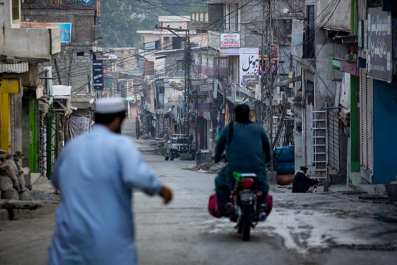 Chitral bazar.