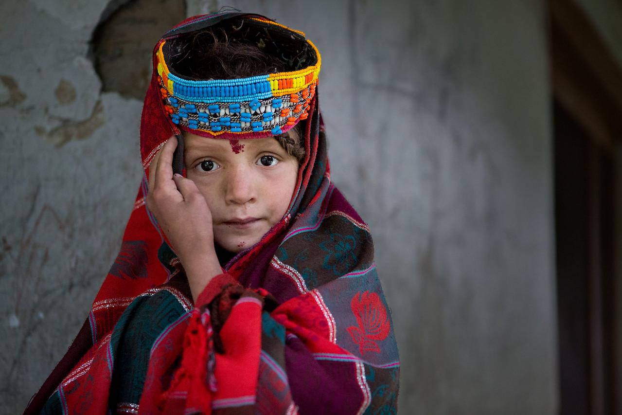 Kalasha girl.
