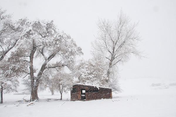 Winter, Boulder, Colorado