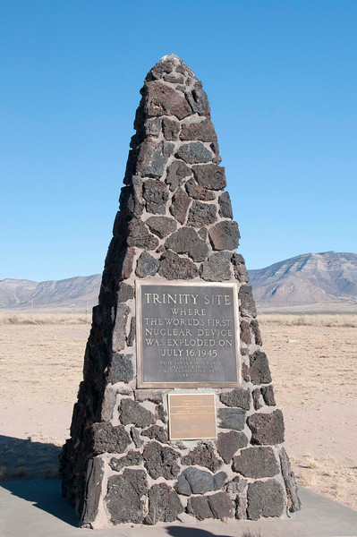 Trinity Site, Site of the First Nuclear Explosion