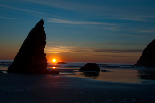Sunset, Ruby Beach, Washington