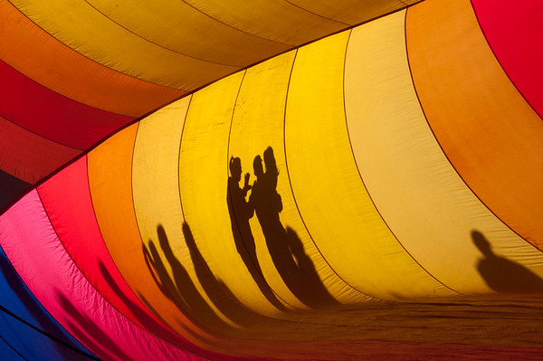 Albuquerque Balloon Fiesta (Shadows on Outside of Balloon)