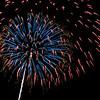 Fireworks at Albuquerque Balloon Fiesta