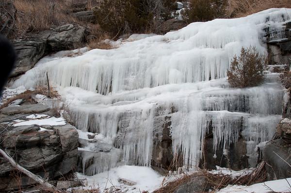 Winter Waterfalls, Montana