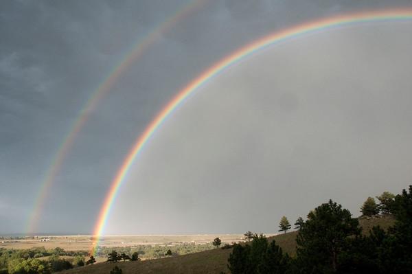 Double Rainbow, Boulder, Colorado
