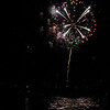 Fireworks in Harbor in Portland Maine
