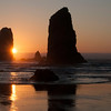 Needles at Cannon Beach, Oregon