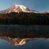 Mt. Rainier and Reflection Lake (Washington)