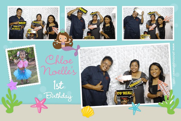 Chloe's First Birthday (Fusion Photo Booth)