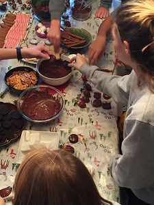 Chocolate Dipping Party