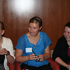 Brittani (left), Allison and Laury are all ears while listening to important Chocolate Lounge gossip.